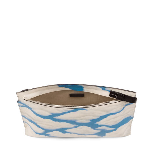 LOEWE Clouds T Pouch Black/Blue all