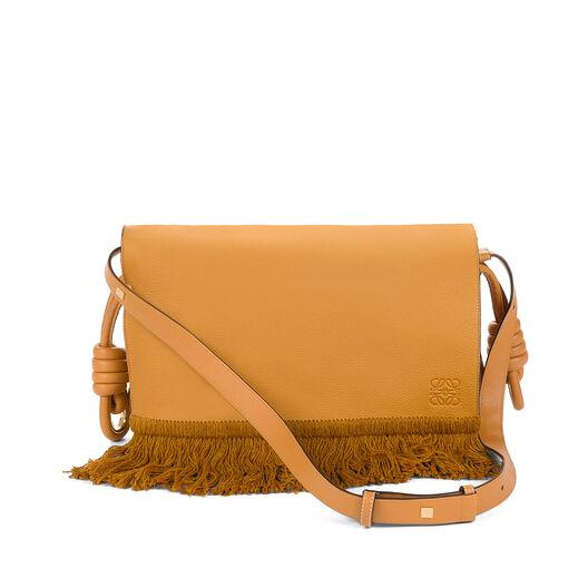LOEWE Flamenco Flap Bag Caramel/Honey all