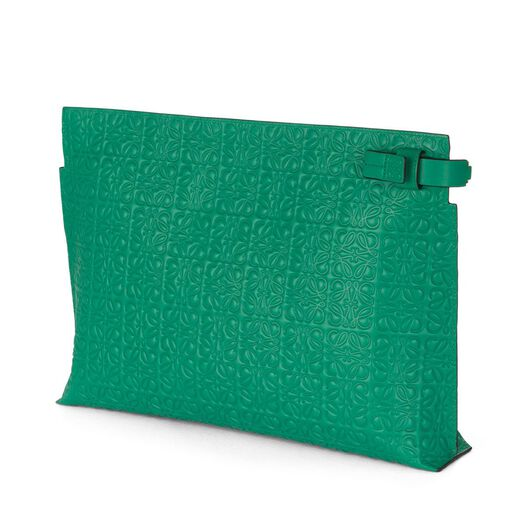 LOEWE T Pouch Green all