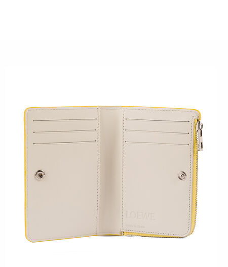 LOEWE Small Zip Wallet Yellow all