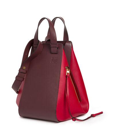 LOEWE Hammock Bag Oxblood/Rouge front