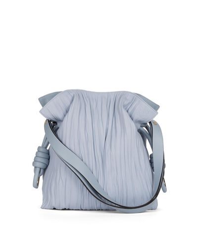 LOEWE Bolso Flamenco Knot Azul Claro front