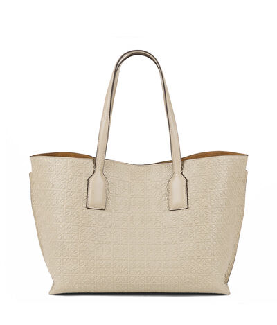 LOEWE T Shopper Bag Stone front