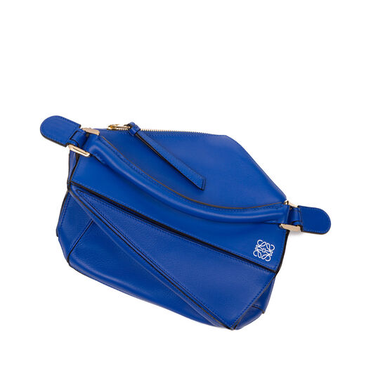 LOEWE Puzzle Small Bag Electric Blue all
