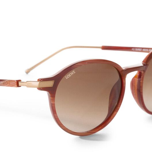 LOEWE Venice Sunglasses Red all