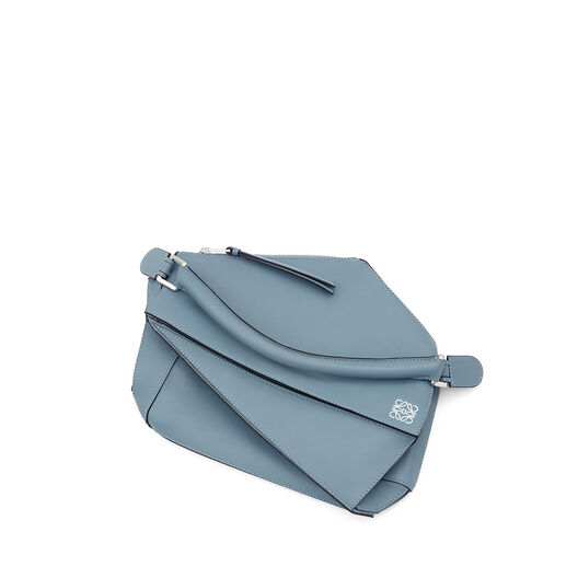 LOEWE Puzzle Bag Stone Blue all