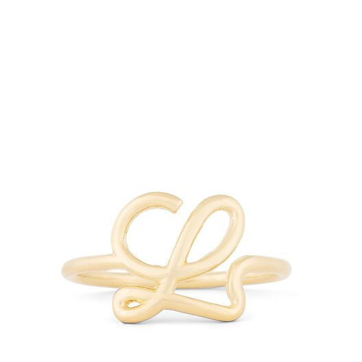 LOEWE L Ring Gold all
