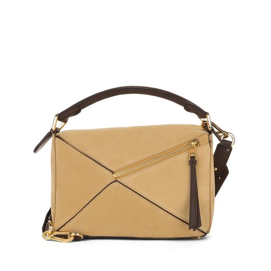 LOEWE Puzzle Small Bag Gold all