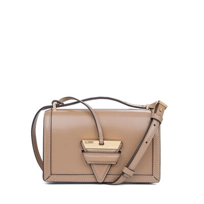 LOEWE Barcelona Small Bag ミンク front