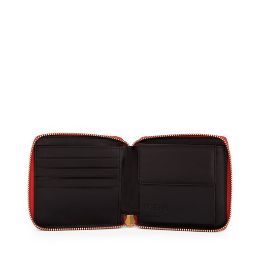 LOEWE Puzzle Small Wallet Red all