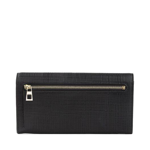 LOEWE Continental Wallet Black all