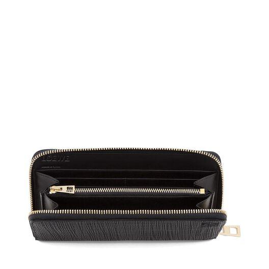 LOEWE Zip Around Wallet Black all