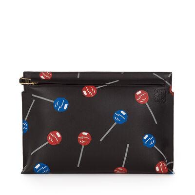 LOEWE Lollipops T Pouch Black front