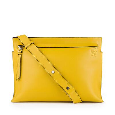 LOEWE T Messenger Bag Yellow front