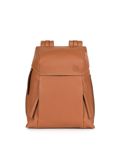 LOEWE T Backpack Small Tan front