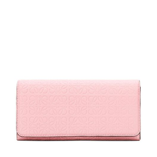 LOEWE Continental Wallet Soft Pink all