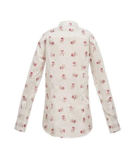 LOEWE Classic Shirt Blanco/Rosa all