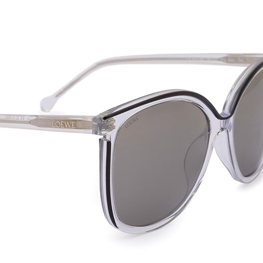 LOEWE Vedra Sunglasses Transparent/Black all