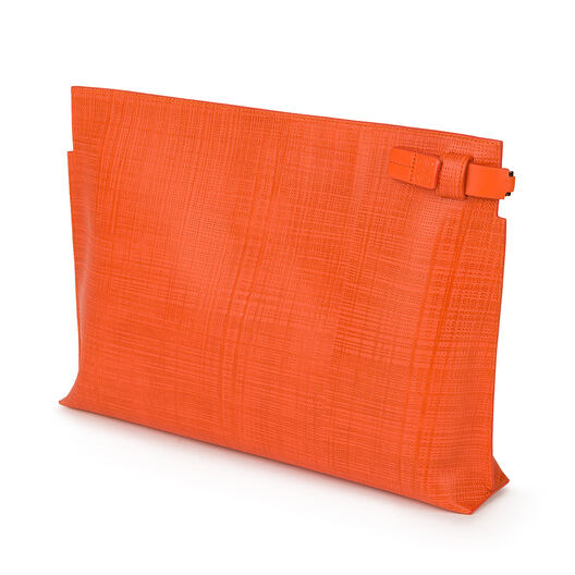 LOEWE T Pouch Orange all