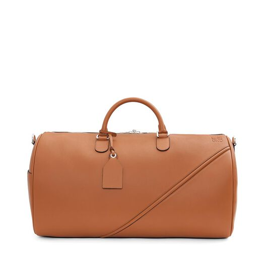 LOEWE Cross Duffle 56 Bag Tan all