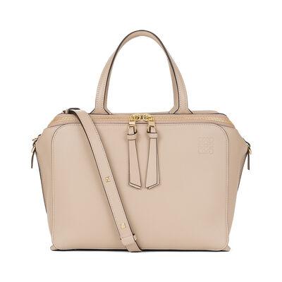 LOEWE Zipper Bag Sand front