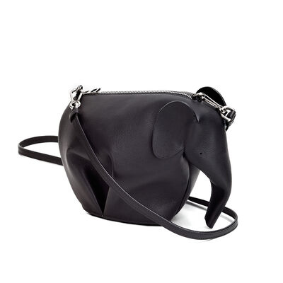 LOEWE Elephant Mini Bag Black front