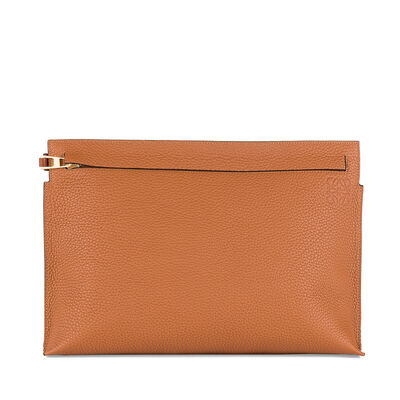 LOEWE T Pouch Tan front