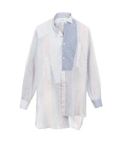 Asymetric Shirt Patchwork