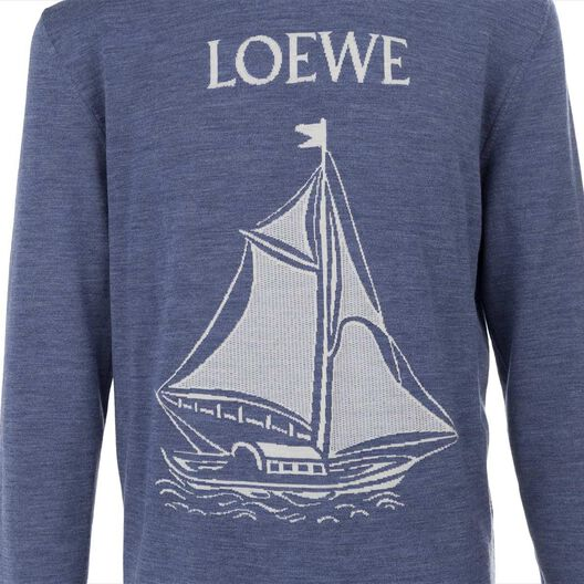 Sweater Boat Jacquard