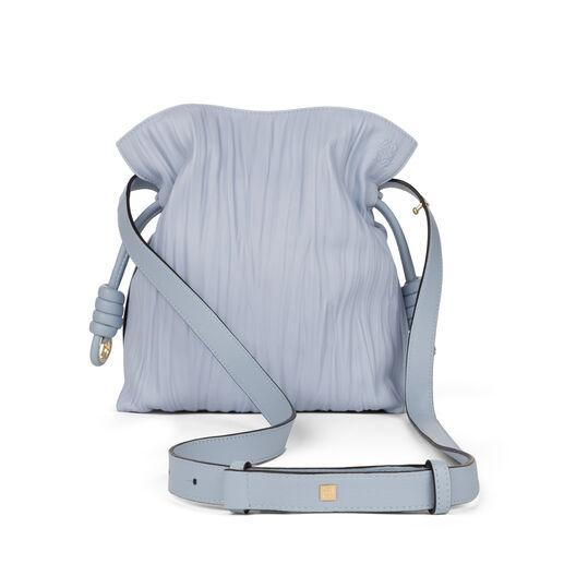 LOEWE Flamenco Knot Small Bag Light Blue all