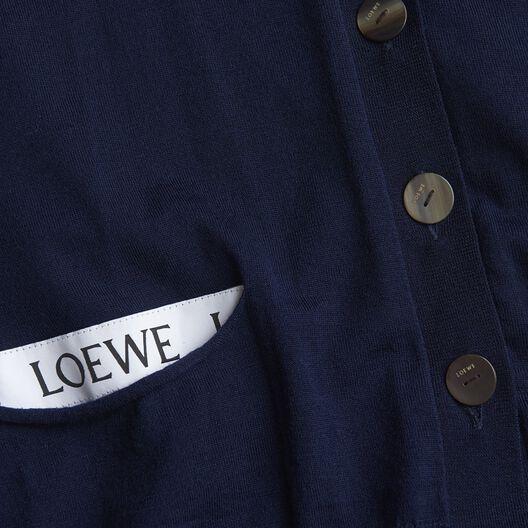 LOEWE Loewe Detail Cardigan Petroleum all