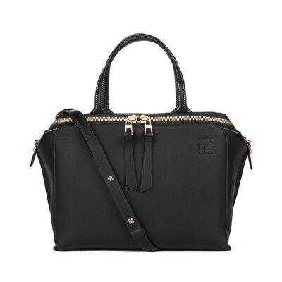 LOEWE Zipper Bag Black front