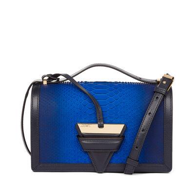 LOEWE Barcelona Bag Blue/Navy front