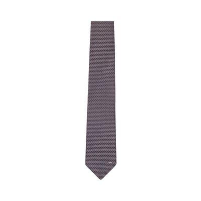 LOEWE 7Cm Circles Tie Grey front