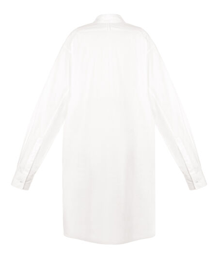 LOEWE Asymetric Shirt White all