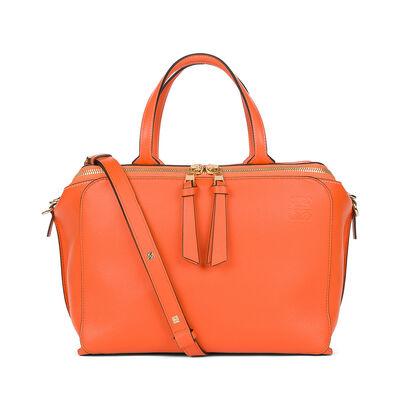 LOEWE Zipper Bag Orange front