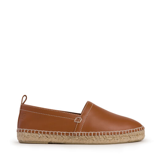 LOEWE Espadrille Contrast Stitching Tan all
