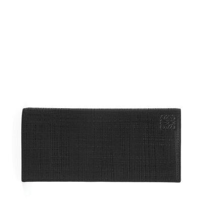 LOEWE Long Horizontal Wallet ブラック front