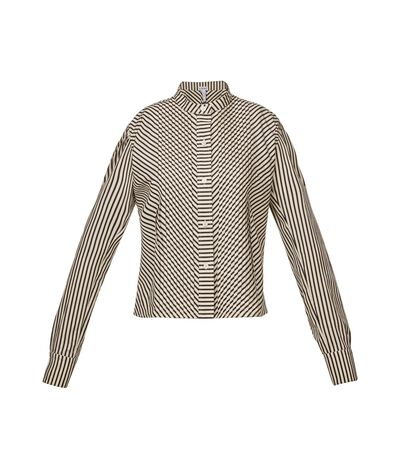 Striped Short Shirt