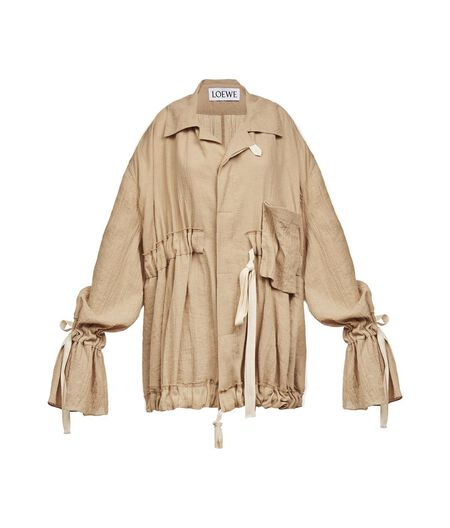Oversize Jacket W/ Drawstring