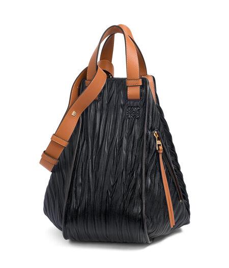 LOEWE Hammock Bag Black/Tan all