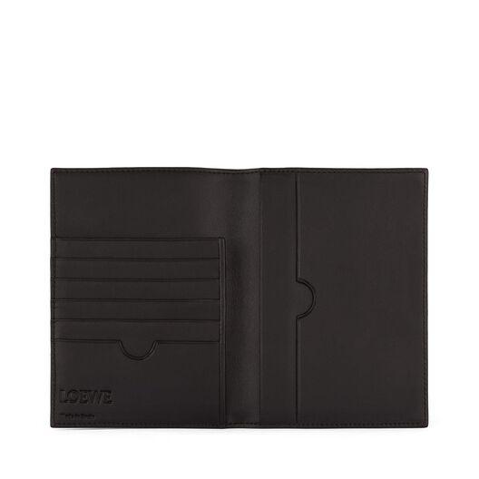 LOEWE Passport Cover Black all