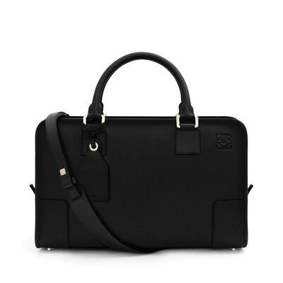 LOEWE Amazona Bag Black/Gold front