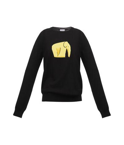 Elephant Jacquard Sweater