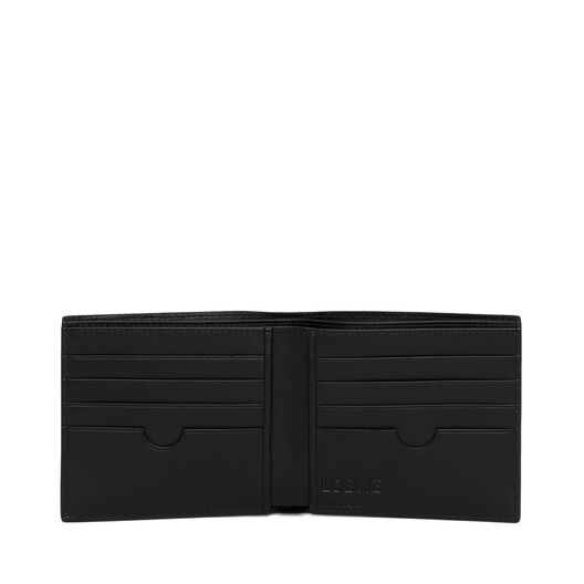 LOEWE Bifold Wallet Navy Blue all