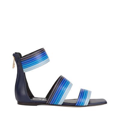 Flat Sandal Stripes