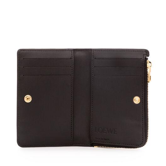 LOEWE Small Zip Wallet Black all