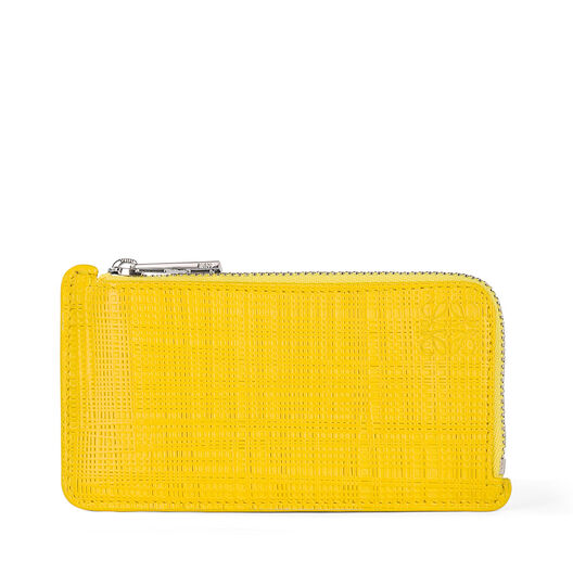 LOEWE Coin/Card Holder Yellow all