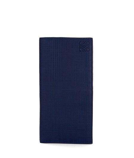 LOEWE Long Vertical Wallet Navy Blue all