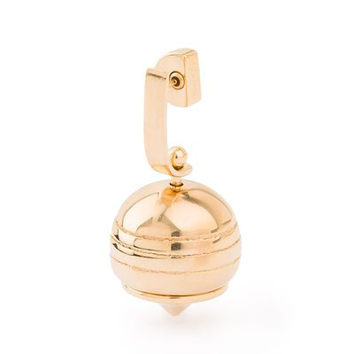 LOEWE Stone Fruit Earring Gold front